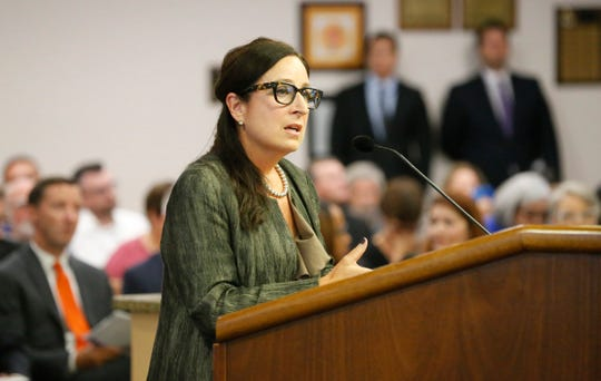 Tracey Jerome, director of the city's Museums and Cultural Affairs Department, commented on the City Council's plans for the Mexican American Cultural Center.