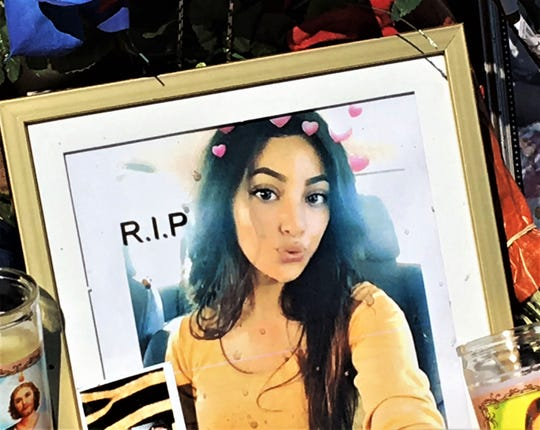 Leslie Ibarra was one of three teens killed in a shooting on Lincoln Avenue in Central El Paso.