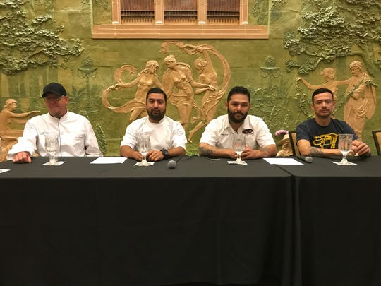 Chefs from Old Mesilla, Juarez and El Paso will be creating a five-course meal for El Pasoans in October.
