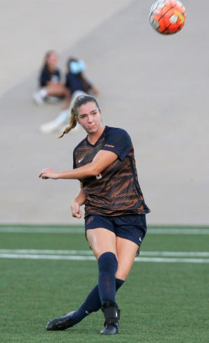 Senior Payton Ross, playing her final home game, helped UTEP to a 2-2 tie against Old Dominion Sunday night at University Field.