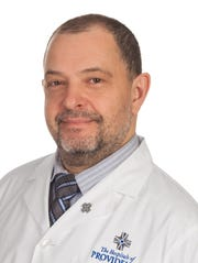 Dr. Aleksandr Reznichenko, new liver transplant surgeon at the Providence  Memorial hospital campus.