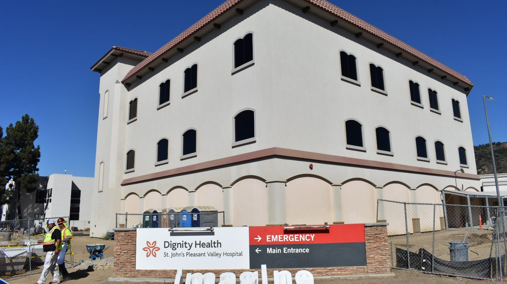 The new St. John's Pleasant Valley Hospital in Camarillo is expected to open for patients before Thanksgiving. A grand opening event will be held Saturday.