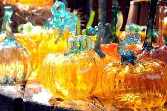 Glass Pumpkins at Wheaton Arts & Cultural Center