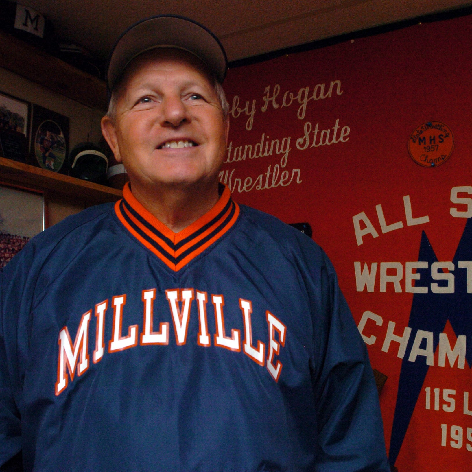 Millville's Bob Hogan inducted into National Wrestling Hall of Fame