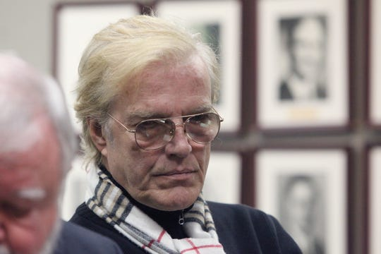 Peter Martins, an Irvington resident and former leader of the New York City Ballet, appears in Ardsley Village Court on a DWI charge Jan. 8, 2018.