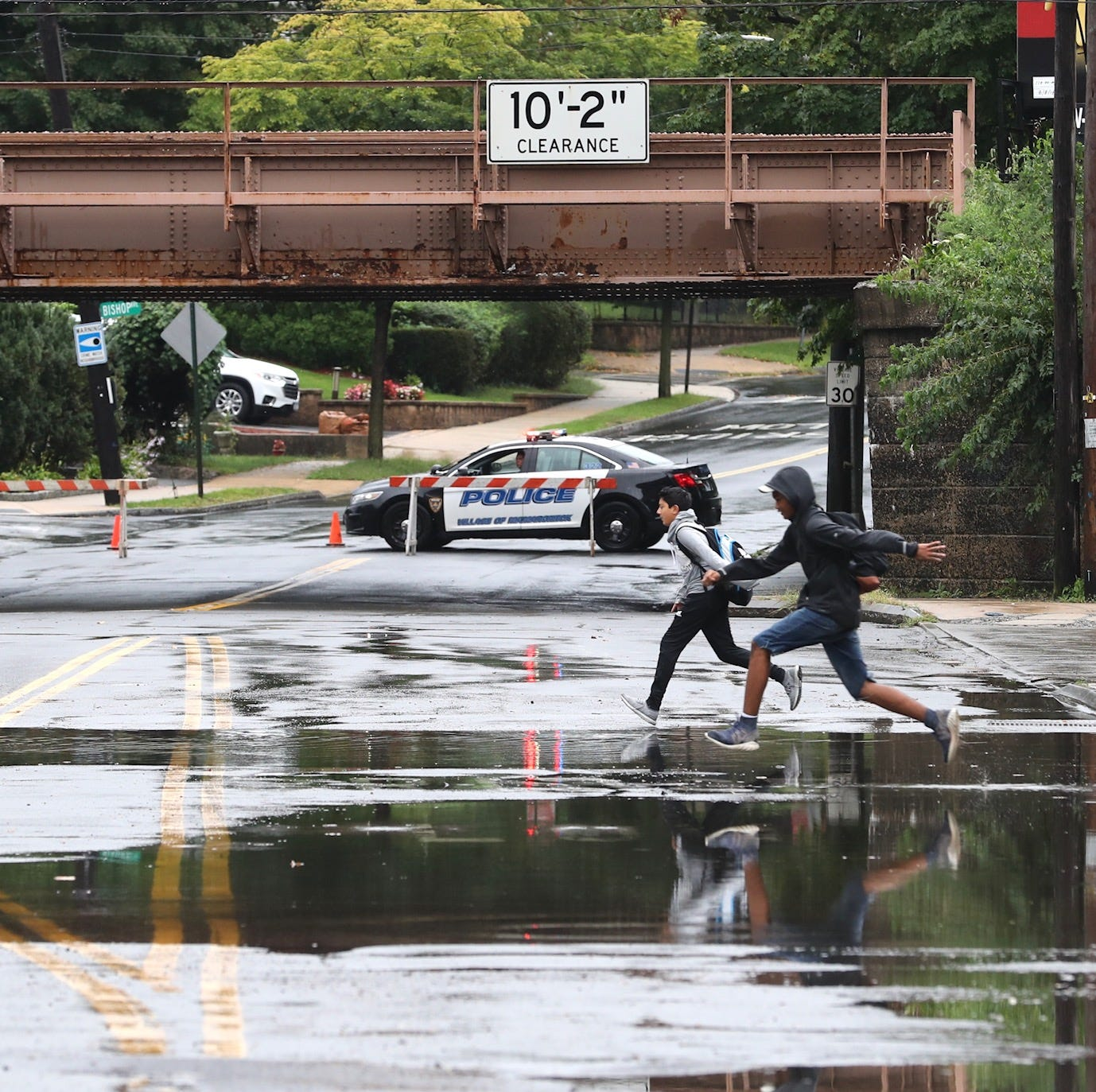 Flooding could slow traffic during evening commute