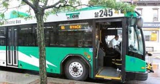 Rockland Transport of Rockland bus