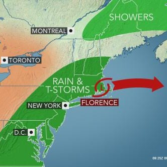 Weather: Rain, flooding expected to soak area today