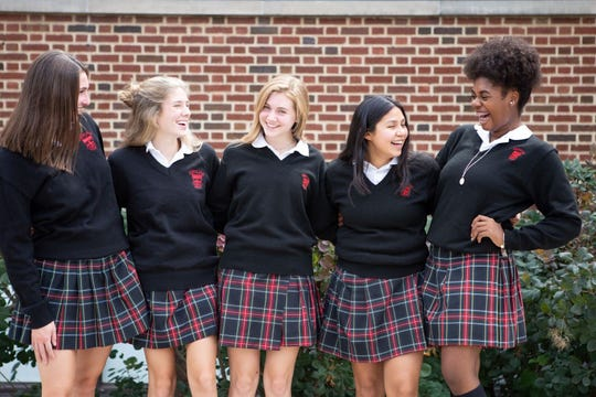 Delaware's oldest all-girl, Catholic Middle & Upper School helps students grow spiritually in a values-based community.