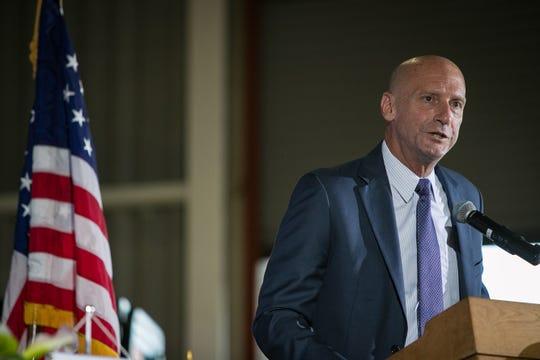 Secretary of State Jeffrey Bullock