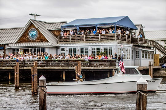 """Steve """"Monty"""" Montgomery of The Starboard and Eric Sugrue of Big Fish Restaurant Group are partners in Nick's Fish House in Baltimore. The pair have bid to take over the northbeach property in Dewey Beach when it becomes available in early 2020."""