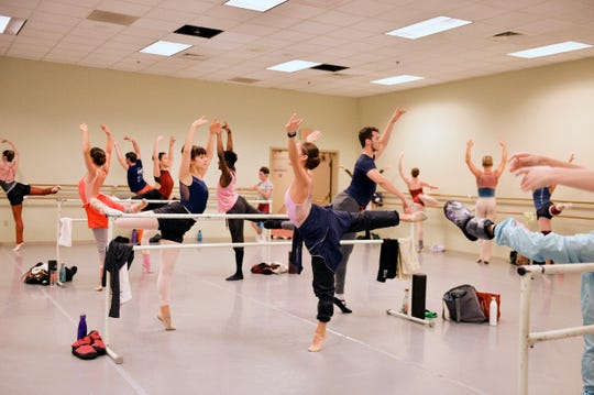 It's not just practice, but the kind of practice that matters in the arts field, as these students at First State Ballet Theatre show.