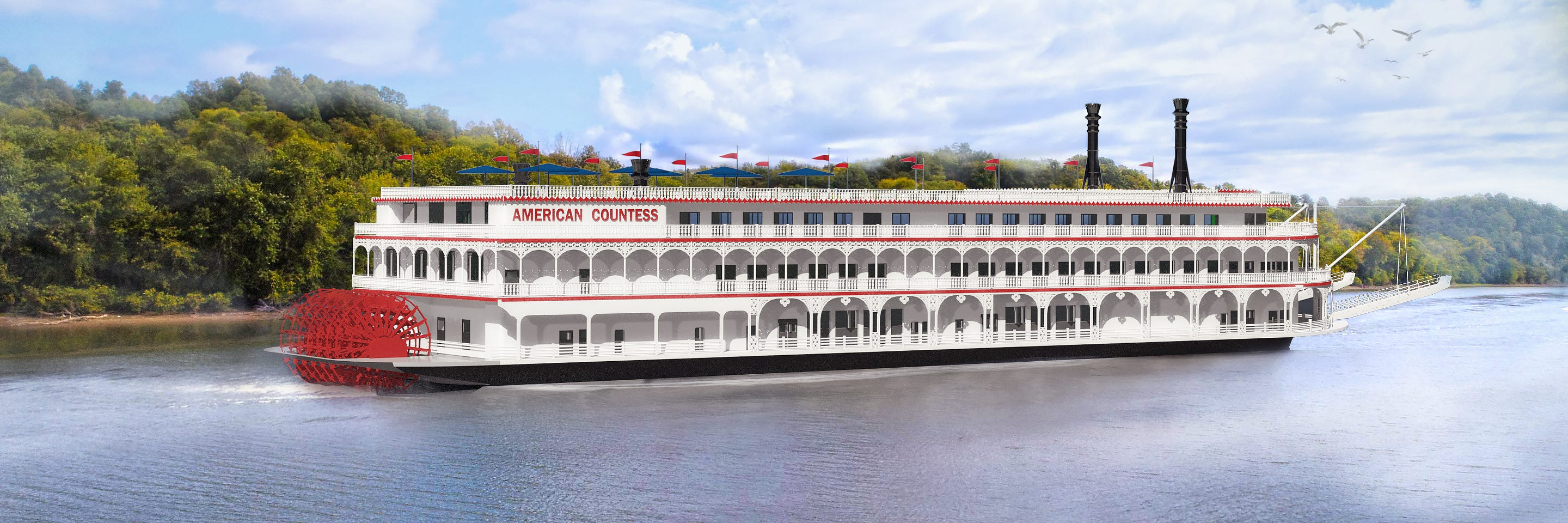 American Queen Steamboat Company unveils plans for new paddlewheeler   USA Today