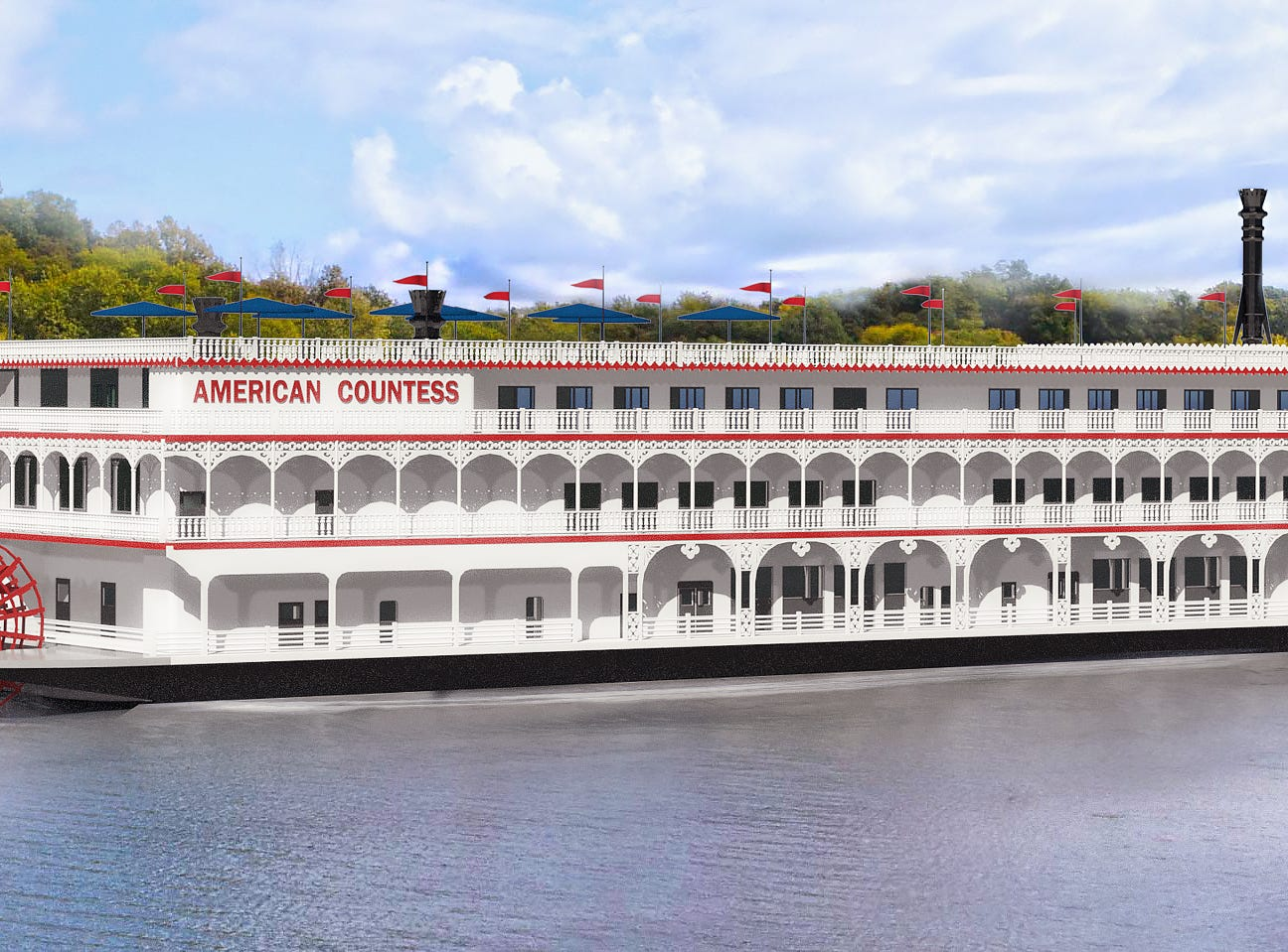 American Queen Steamboat Company unveils plans for new paddlewheeler