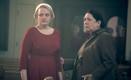 Aunt Lydia (Ann Dowd) will be back to torment Offred (Elisabeth Moss) in Season 3.