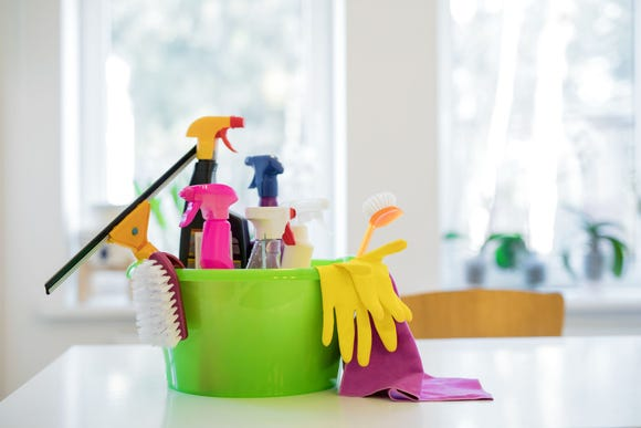 "U.S. cleaning products representatives said the study made ""sensational claims."""