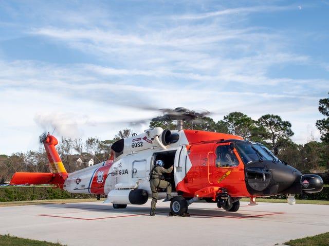 Bell 212 Canadian Coast Guard