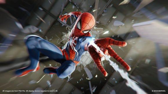 Marvel's 'Spider-Man' for PlayStation 4