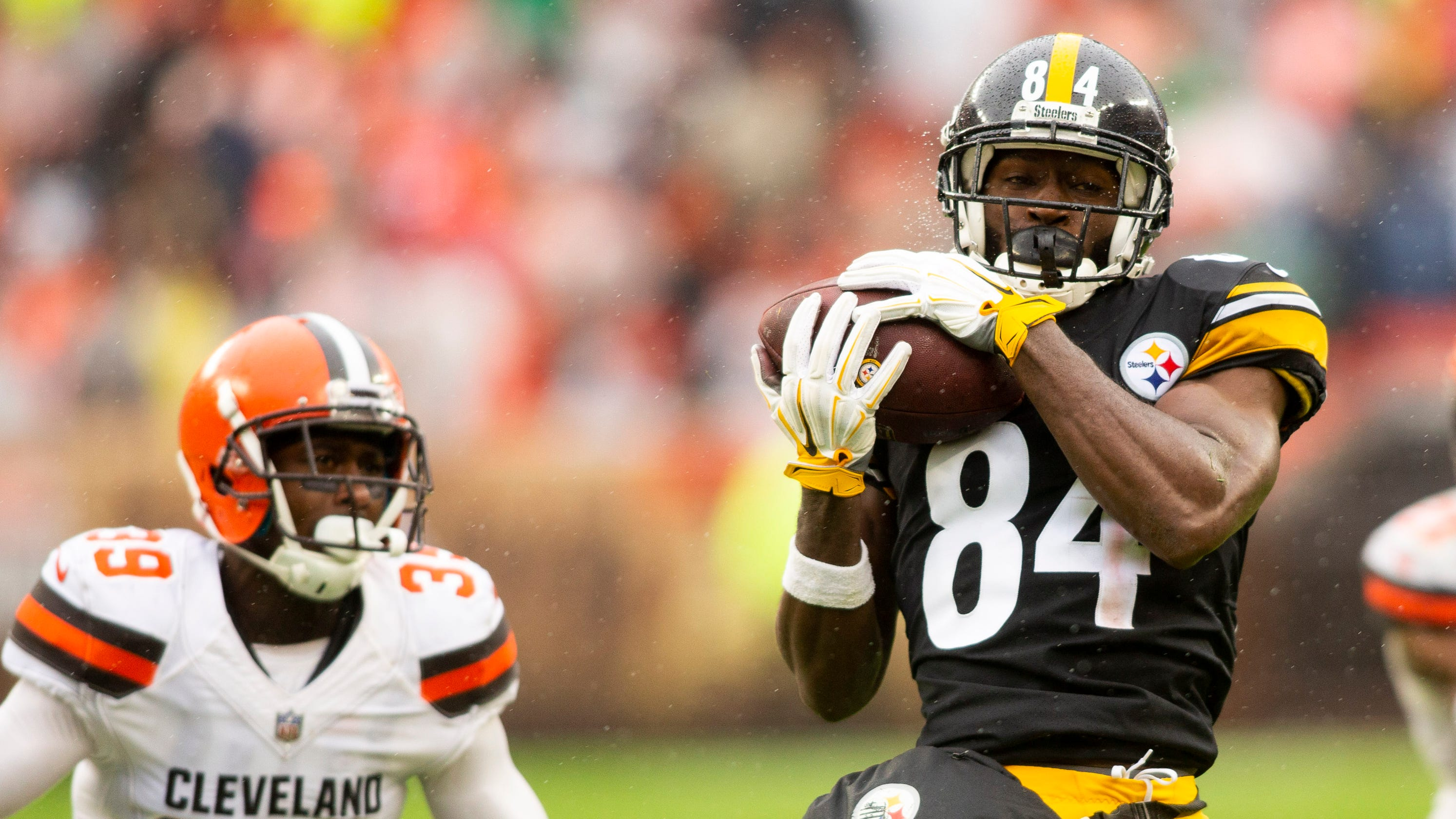 1206a07ef Steelers  Antonio Brown didn t show up on Monday