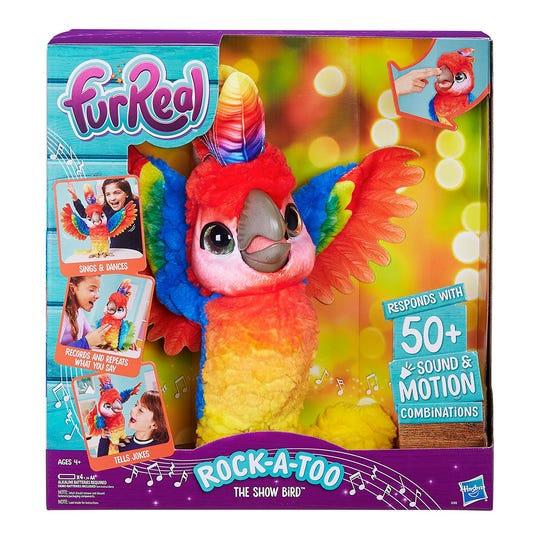 The FurReal Rock-A-Too is a Target exclusive.
