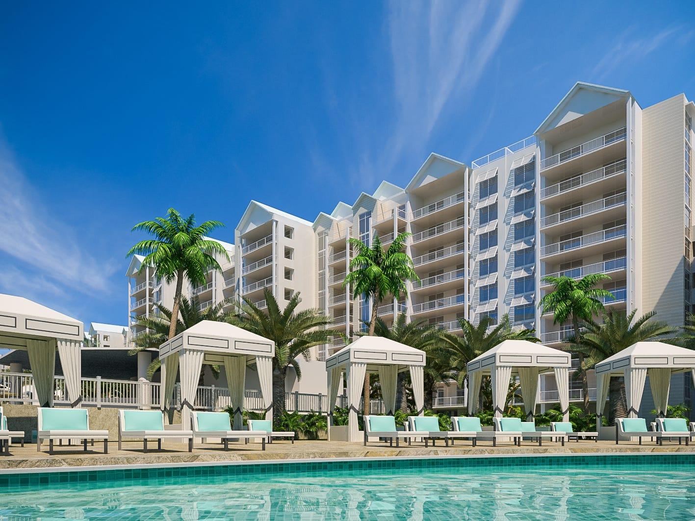 Design rendering of Allegiant Air's planned Sunseeker Resort Charlotte Harbor in Southwest Florida.