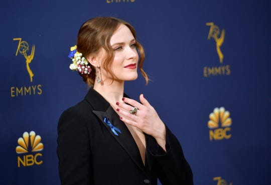 Evan Rachel Wood attends the 70th Emmy Awards at Microsoft Theater on September 17, 2018 in Los Angeles, California.