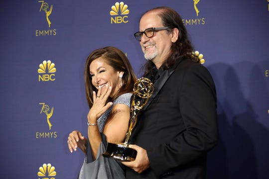 Glenn Weiss chased his outstanding directing win for the Oscars by getting engaged onstage to his girlfriend, Jan Svendsen.