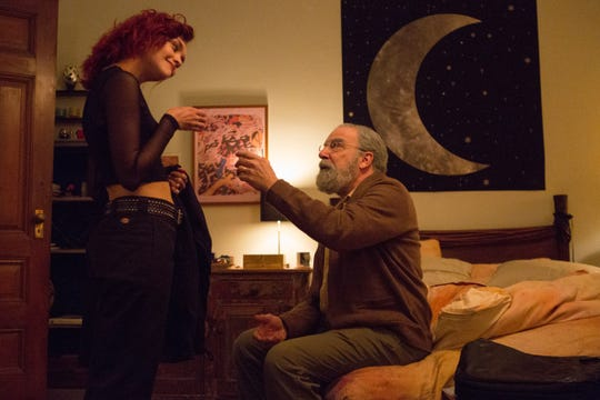"""Dylan (Olivia Cooke) shares a moment with her grandpa (Mandy Patinkin) in """"Life Itself."""""""
