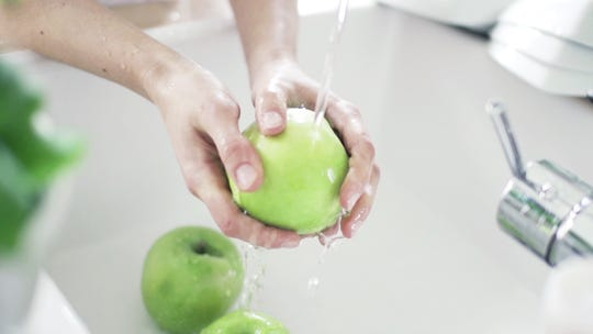 The same practices that we normally use to reduce contamination risk, such as washing your hands and washing fruit and vegetables before eating, should be applicable to reduce the risk of contracting COVID-19.