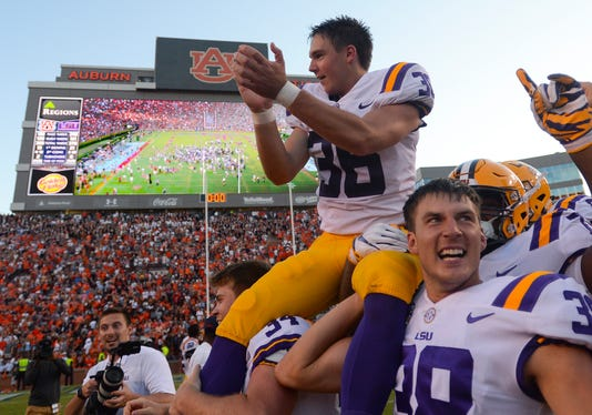 cole tracy lsu fans donate to assumption college to honor hero kicker