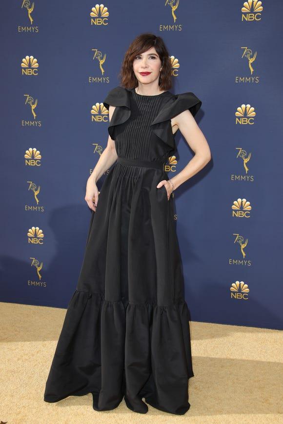 Image result for carrie brownstein emmys pocket dress