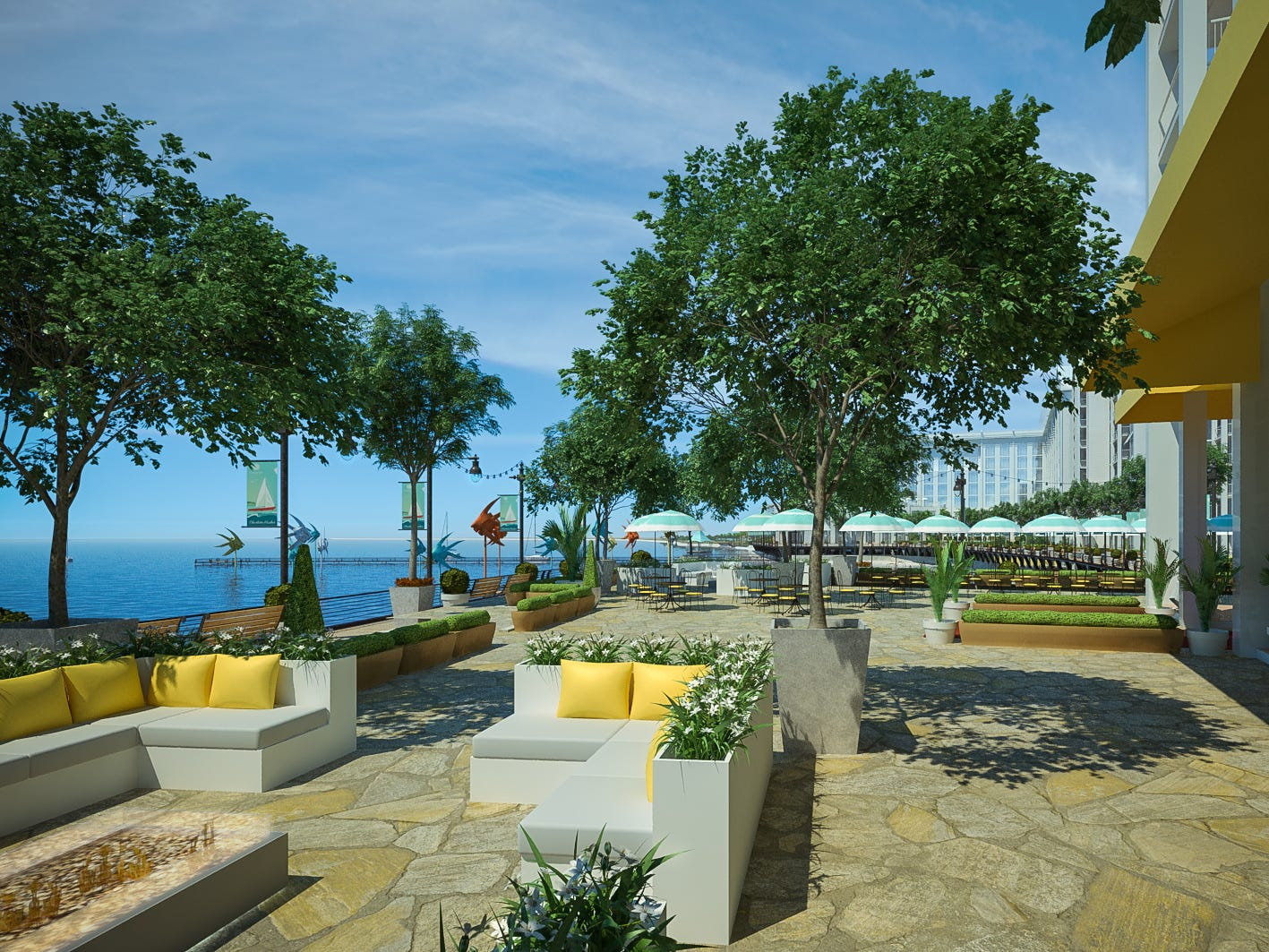 Allegiant says it plans to break ground in February 2019 on the Sunseeker Resort Charlotte Harbor in southwest Florida, its first foray outside the airline business.