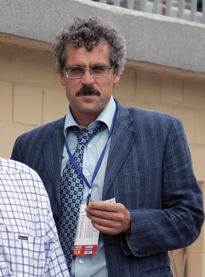 A file photo from 2007 shows Grigory Rodchenkov, the former director of Russia's laboratory in Moscow.