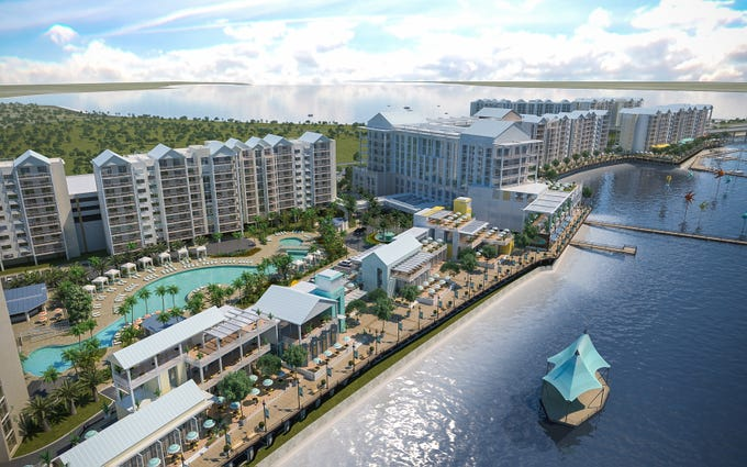 Allegiant Air says it plans to break ground in February 2019 on the Sunseeker Resort Charlotte Harbor in Southwest Florida, its first foray outside the airline business.