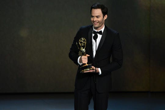 """""""Barry"""" star Bill Hader takes lead actor in a comedy series at the 70th Emmys."""