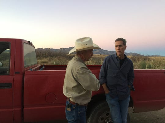 """""""American Chaos"""" director Jim Stern looks for insight from Trump supporter John Ladd."""