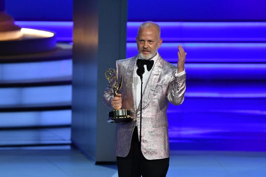 """Ryan Murphy won outstanding directing for the miniseries """"The Assassination of Gianni Versace: American Crime Story."""" It went on to win outstanding limited series."""
