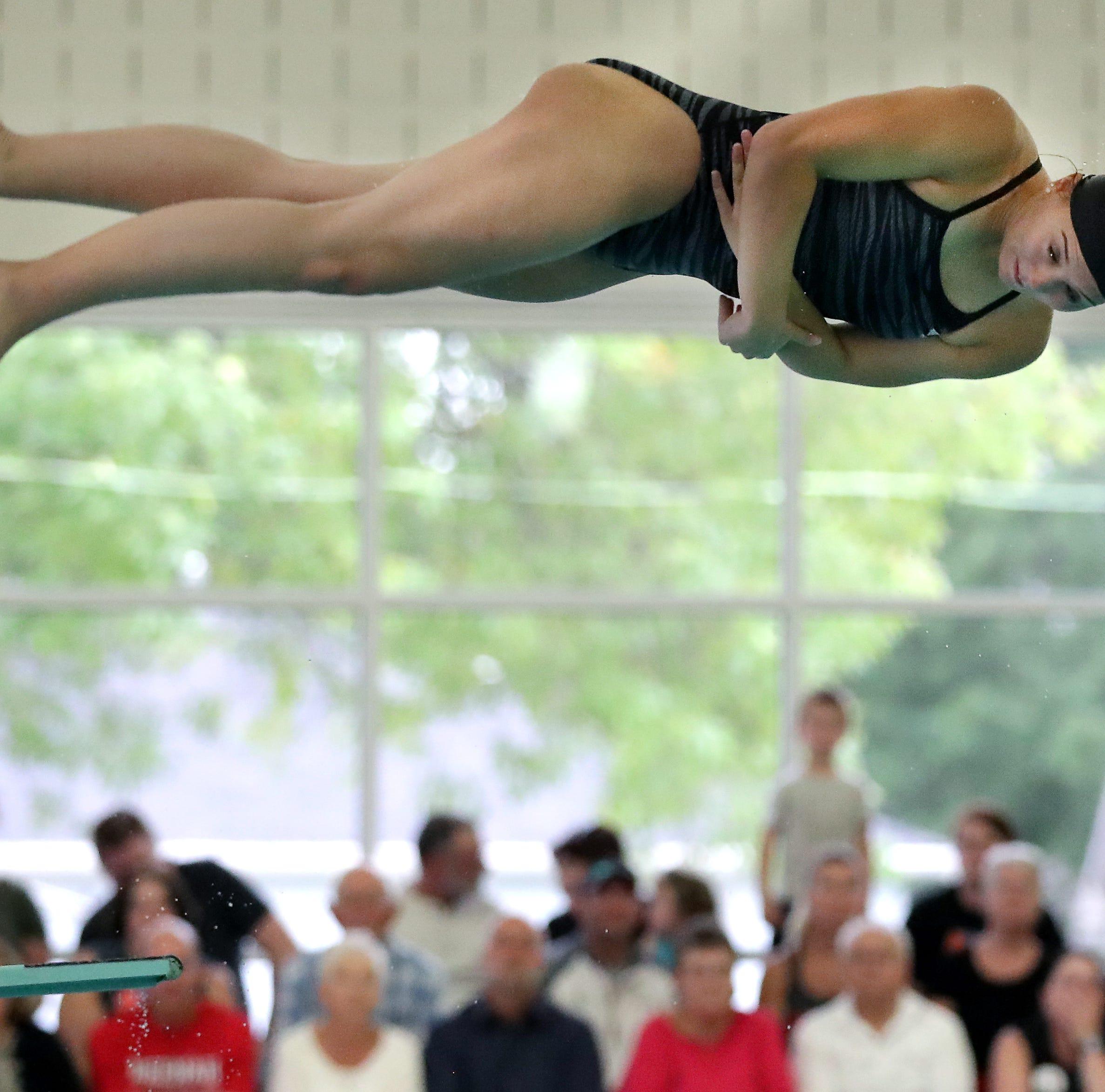 Appleton West/Kimberly vs. Neenah swim meet