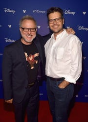 "Neenah native Phil Johnston, right, co-directed ""Ralph Breaks the Internet"" with Rich Moore, left."