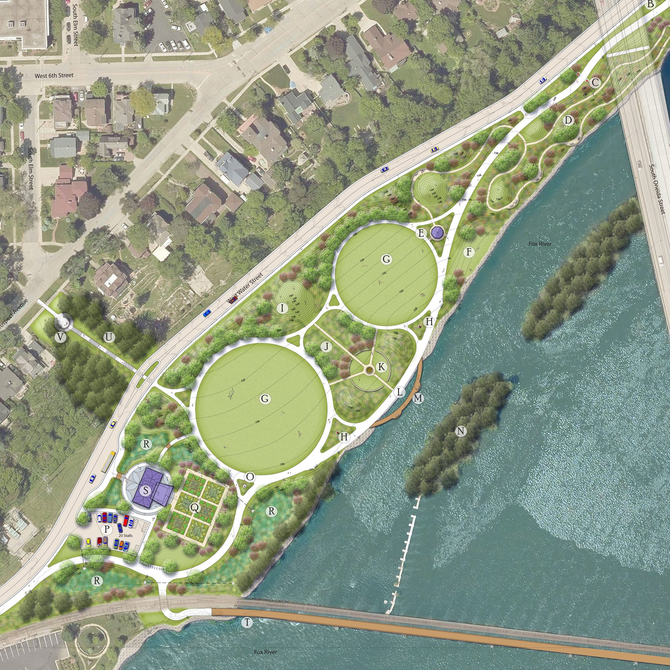 Appleton will develop Ellen Kort Peace Park in phases