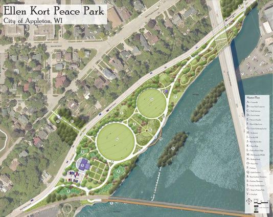 Ellen Kort Peace Park Master Plan
