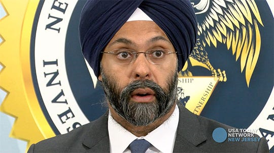 NJ Attorney General Gurbir S. Grewal