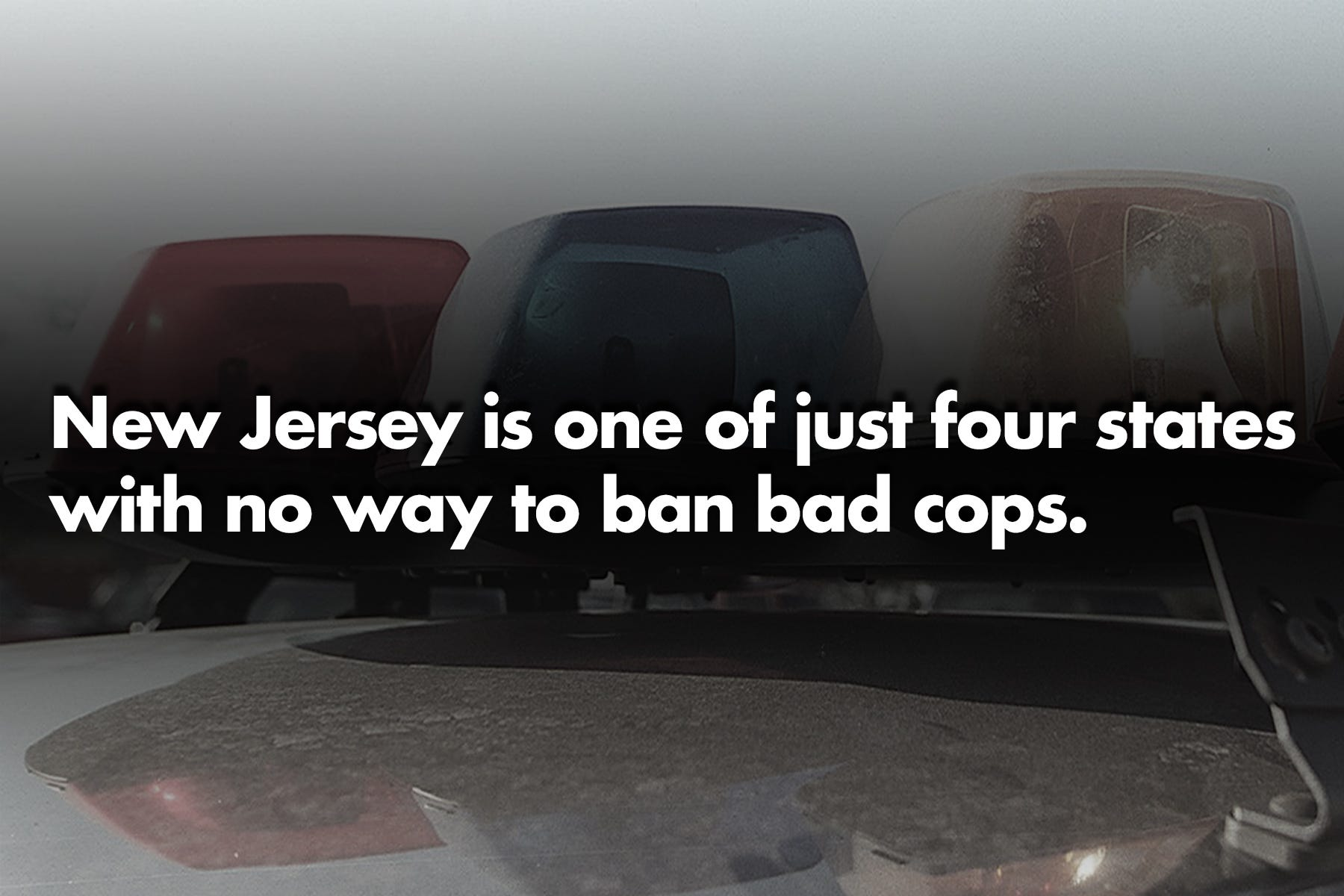 Police misconduct: Your NJ traffic stop could be with a