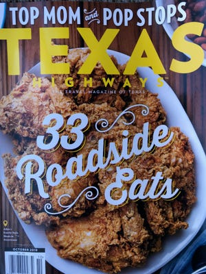 Cafes in Brownwood, Sweetwater and Stephenville are highlighted in the October 2018 issue of Texas Highways.