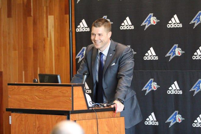 UNC Asheville men's basketball coach Mike Morrell