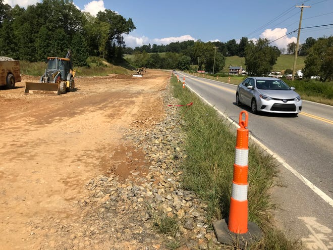 A widening project along New Leicester Highway is on schedule for completion in 2020, according to the North Carolina DOT.