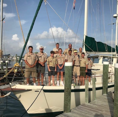 BUZZ ABOUT YOU: Local Boy Scouts take trip to assist Bahamian Scouts
