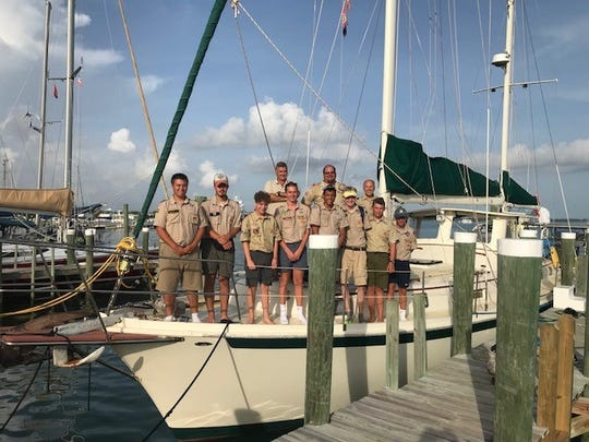 Eight boy scouts from Binghamton High School and Seton Catholic Central High School traveled to Nassau, Bahamas, to help the Bahamian Scouts July 31 to Aug. 11.