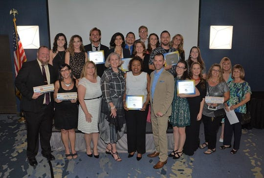 Five local companies were recognized at the Cocoa Beach Regional Chamber of Commerce Business Champion of the Year Awards.