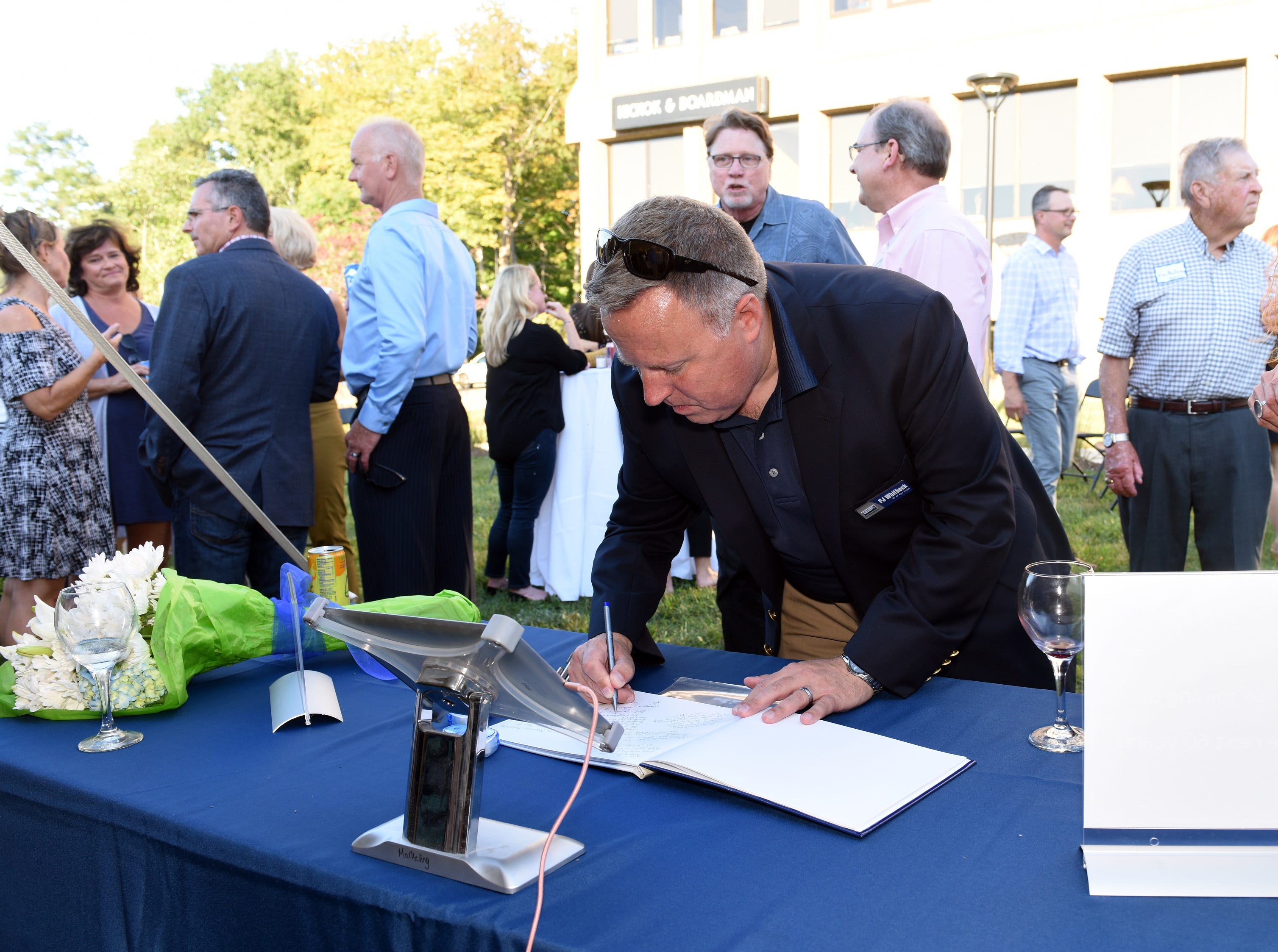 Community and Industry leaders came to celebrate the Coldwell Banker Hickok & Boardman Realty's 60th Anniversary on September 13, 2018, with current and past agents and community leaders in Burlington, VT.